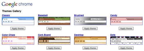 Google Chromeのテーマを変更してみた
