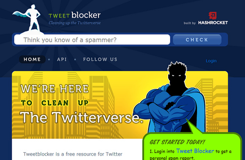 フォロワーのグレードを判定する「Tweet Blocker」