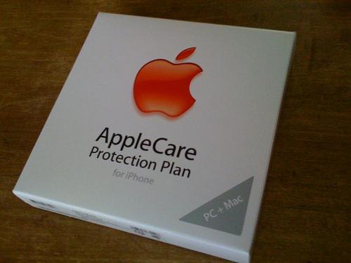 iPhoneのAppleCareを登録した