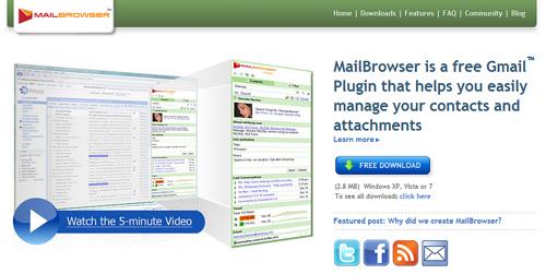Gmailのコンタクトに付加情報を加えるMailBrowser
