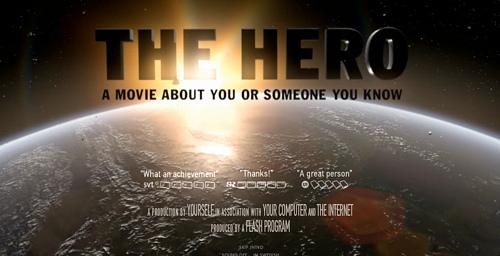 ちょっとしたヒーローになれる「The HERO」