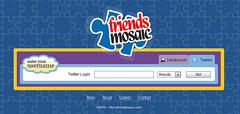 Twitterのフォロワーアイコンでグッズのデザインできる「My Friends Mosaic」