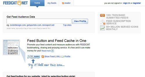 FeedBurnerとはちょっと違うFeedcat.netを試してみた