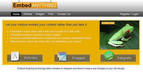 引用や画像にアドセンスを埋め込むことができるEmbed Antything