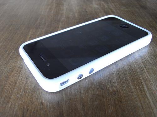 iPhoneのBumperが届いた