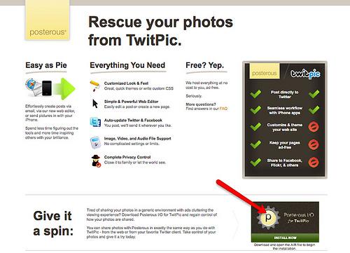 TwitPicに投稿した写真をまとめてダウンロードする方法