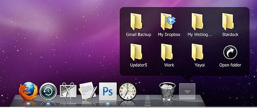 新しいObjectDock 2.0をMac風に仕立ててみる