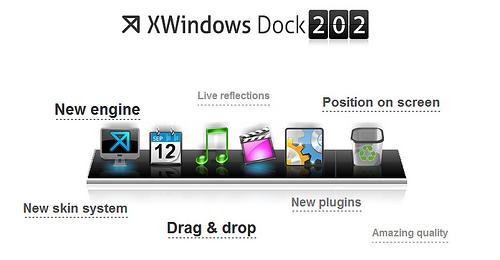 XWindows Dockが2.02にアップデート