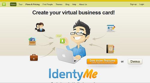 多くの項目を登録できるオンライン・アイディンティティ「IdentyMe」