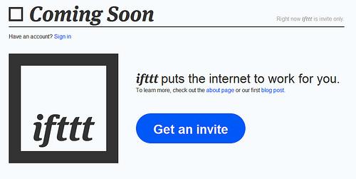 ソーシャルサービスをつなげて、ごにょごにょできる「ifttt」