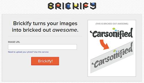 ピクセル画ジェネレーター「Brickify」