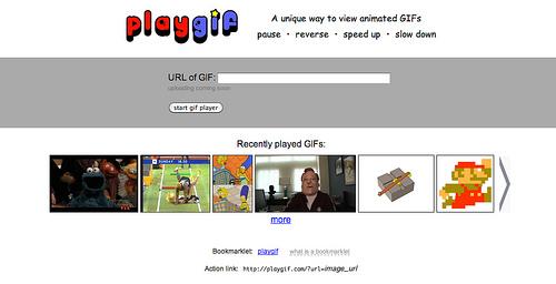 GIFアニメのコントローラー「Play GIF」