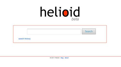 ポップな検索エンジン「Helioid」