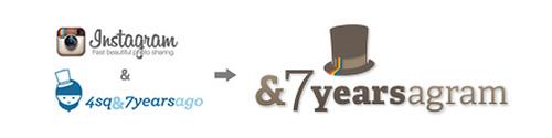 1年前にInstagramへ投稿した写真が送られてくる「&7yearsagram」