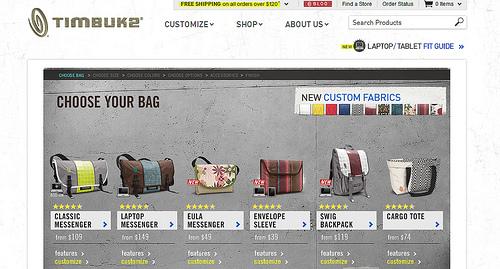 Timbuk2のメッセンジャーバッグを購入した