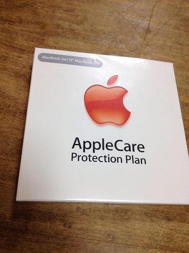 Macbook AirのAppleCare Protection Planを購入