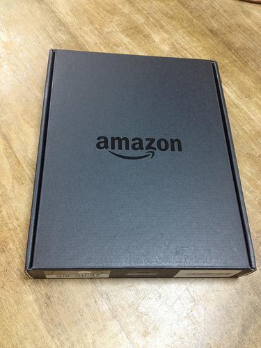 Kindle Paperwhiteが届きました
