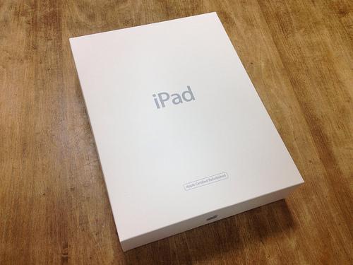 iPadが届きました