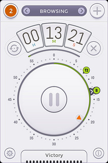 複数タイマーアプリ「Clear Timer」