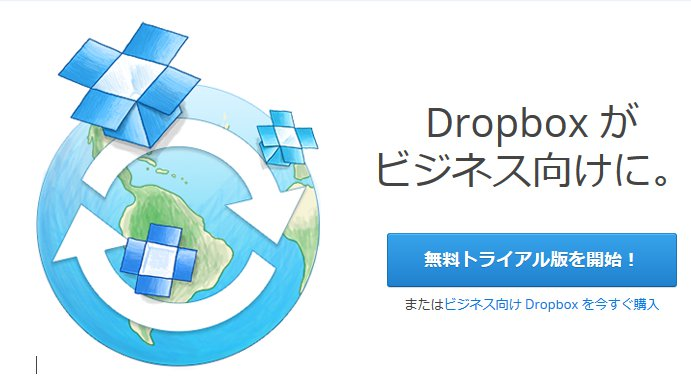 Dropbox for Businessを使ってみた
